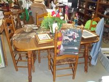 Table with Four Chairs Set in Fort Riley, Kansas