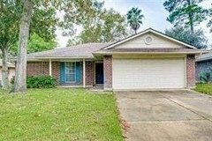 Reduced! To $1495. Never flooded Beautiful Comfy home for rent in Kingwood 3-2-2 in Sherwood Trails in Kingwood, Texas