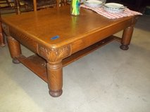 Large Oak Coffee Table in Fort Riley, Kansas