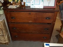 Mission Style Three Drawer Dresser in Fort Riley, Kansas