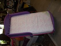 Plastic Toddler Bed with Mattress in Fort Riley, Kansas