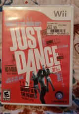 Wii Just Dance video game in Fort Campbell, Kentucky