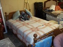 Cannon Ball Style Complete Full Bed in Fort Riley, Kansas