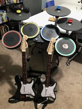 PS4 Rock Band 4 Instruments - Full Band in Beaufort, South Carolina