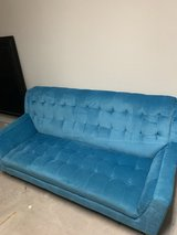 Blue Sofa Couch in Kingwood, Texas