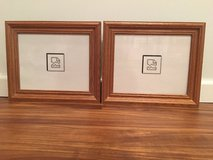 2 Solid Oak Frames in Cary, North Carolina
