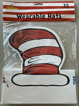 NIP Dr. Seuss Cat in the Hat Wearable Hats (32 count) in Okinawa, Japan