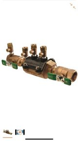 Zurn-Wilkins 3/4 in. Brass Water Pressure Reducing Valve in Fort Riley, Kansas