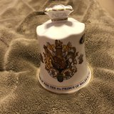 Collectible Bell, marriage of Prince Charles to lady Diana Spencer, Made by Aynsley Fine Bone Ch... in Kingwood, Texas