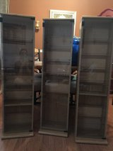 3 Wood Cabinet with glass door and 7 shelves in Naperville, Illinois