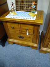 Solid Oak Night Stand in Glendale Heights, Illinois