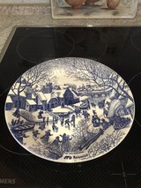 collectible Christmas plate in Ramstein, Germany