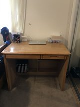 Office or bedroom Computer Table ($50) with w/matching end table ($25) or $65 for both in Lakenheath, UK