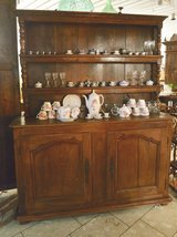 rustic country house dining room hutch with plate board in Stuttgart, GE
