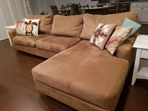 ashley microsuede couch/chaise in Miramar, California