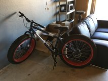 Fat tire mongoose bike in Yucca Valley, California