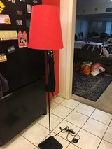 Red Floor Lamp, Great Cond. in Camp Pendleton, California