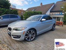 American Spec. 2017 BMW 230i X Drive COUPE F 22 #65 in Spangdahlem, Germany