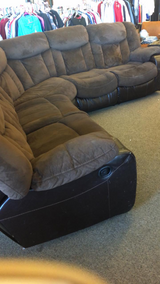 Sectional - both ends recline in Fort Leonard Wood, Missouri