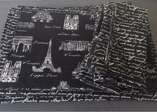 6 Paris fabric placemats and napkins in Stuttgart, GE