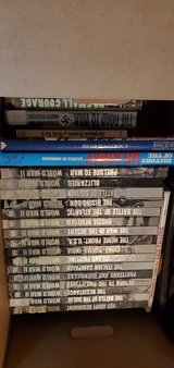 WWII hardcover books 17+ by Time Life - plus others in Chicago, Illinois