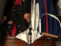 SNCO mess Dress uniform (all brass included) in Camp Pendleton, California