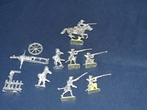 18th century Tin soldiers in Ramstein, Germany