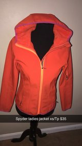 spyder ladies jacket xs/tp in Joliet, Illinois