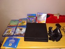 Sony Playstation 4 (PS4) Slim w/ Games and 2 Controllers in Fort Campbell, Kentucky