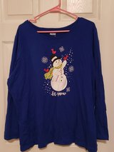 3XL Blue Holiday Shirt in Fort Campbell, Kentucky