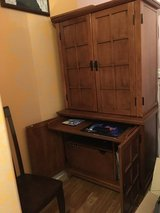 Computer Desk / Armoire in Joliet, Illinois