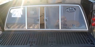 Sliding rear window in Alamogordo, New Mexico