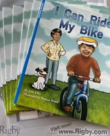 NIP Rigby PM Flying Colors: Leveled Reader Package Level F I Can Ride My Bike in Okinawa, Japan