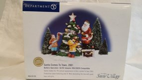 Dept. 56 - Santa Comes To Town, 2001 in Westmont, Illinois