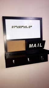 wooden wall decor key /bored /mailbox frame. in Naperville, Illinois