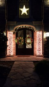 We install Christmas lights in Spring, Texas