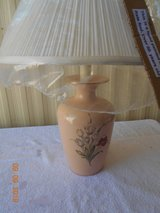Lamp - Hand Painted with new shade in Alamogordo, New Mexico