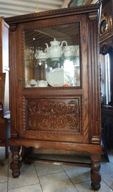 elegant display cabinet in Spangdahlem, Germany