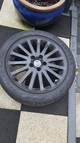 NEW summer Volvo S40 tires on rims x4 in Wiesbaden, GE