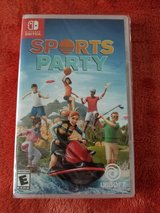 Sports Party Nintendo Switch Game in Camp Lejeune, North Carolina