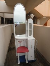 Make up dresser with chair (Pending Pick up Wednesday) in Okinawa, Japan