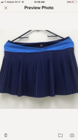 Lululemon pleat to street Skirt in Stuttgart, GE