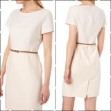 Esprit business dress rosè white beige with belt in Ramstein, Germany