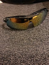 BRAND NEW IN CASE- Sunglasses with 5 interchangeable lenses in Kingwood, Texas
