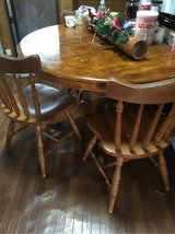 solid oak table , 4chairs in Okinawa, Japan