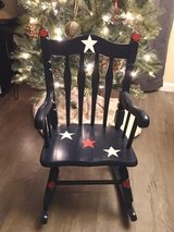 Child's wooden painted rocking chair in Joliet, Illinois