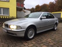 BMW 520i Sedan, AUTOMATIC, A/C, Heated Seats, Power Moonroof, CD stereo, New Service, New TÜV!! in Ramstein, Germany