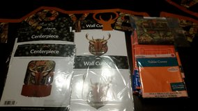 Deer Hunting Themed Birthday Supplies in DeRidder, Louisiana