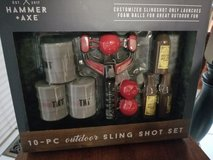 Hammer + Axe 10pc. Sling shot set in Plainfield, Illinois