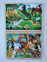 2 Melissa & Doug Jigsaw Puzzles - Pre-owned - Very Good Condition in Naperville, Illinois